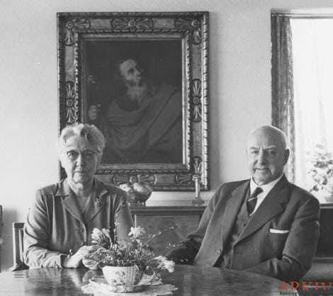 Gustav and His Wife
