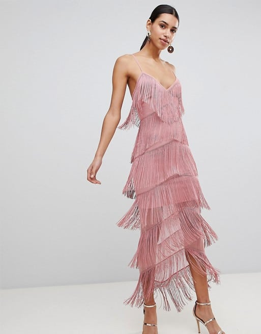 Asos Fringe Dress $76