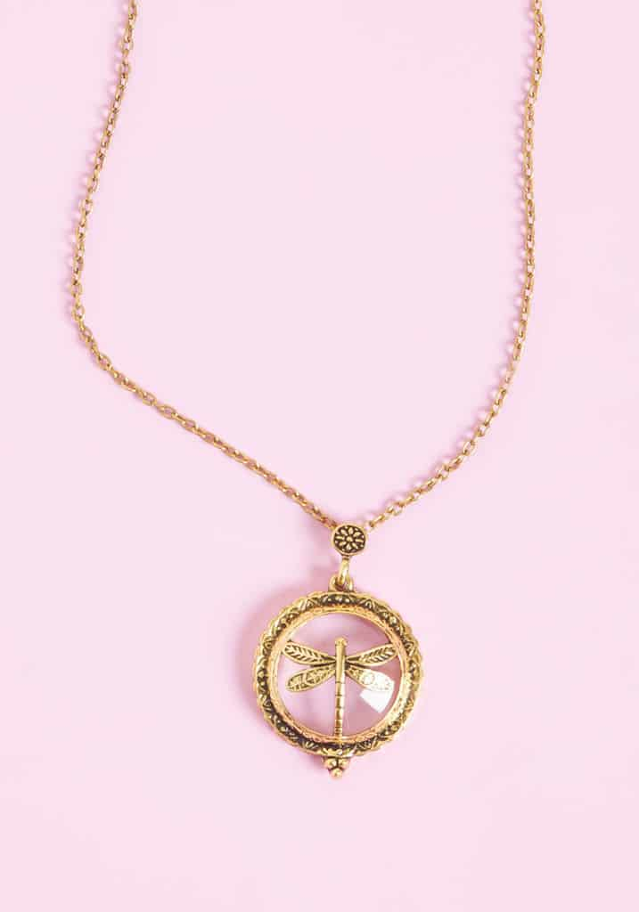 Gliding The Way Necklace $15