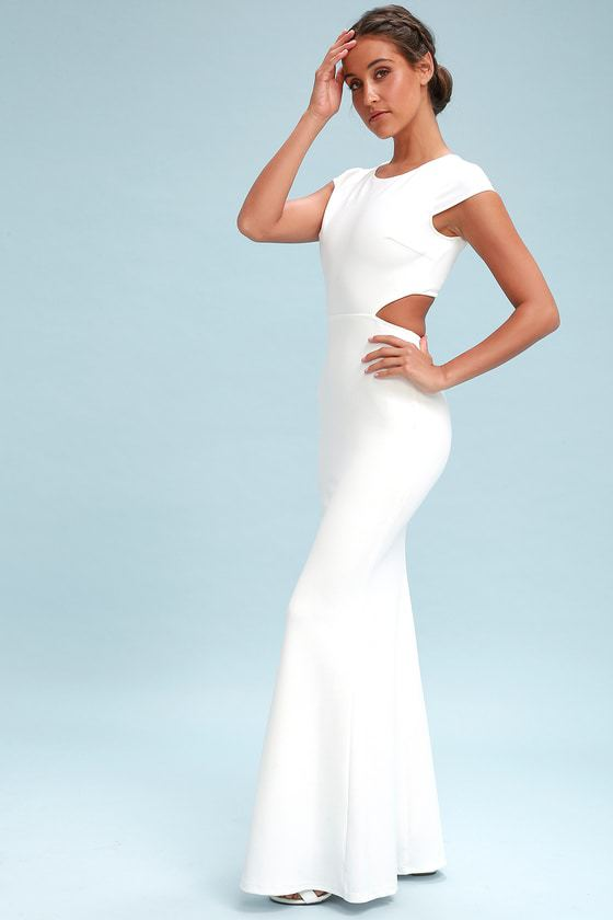Be Still My Heart White Maxi $94