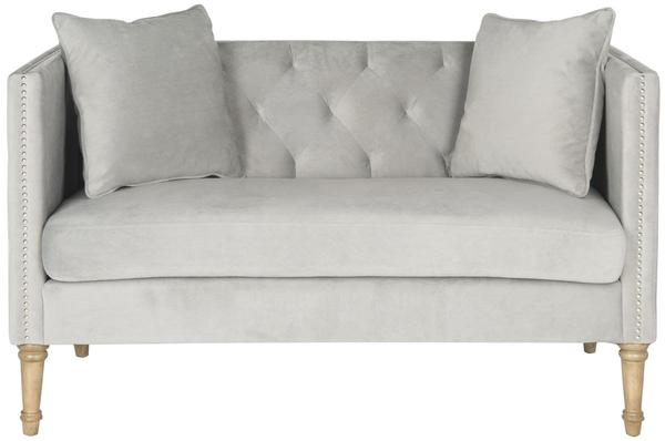 Tufted Settee With Pillows $514.80