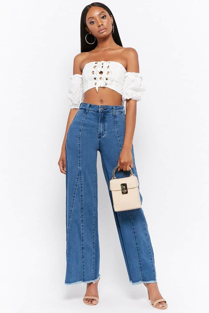 Seamed Flare Jeans $34.90