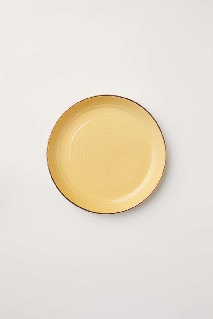 Textured Porcelain Plate $9.99