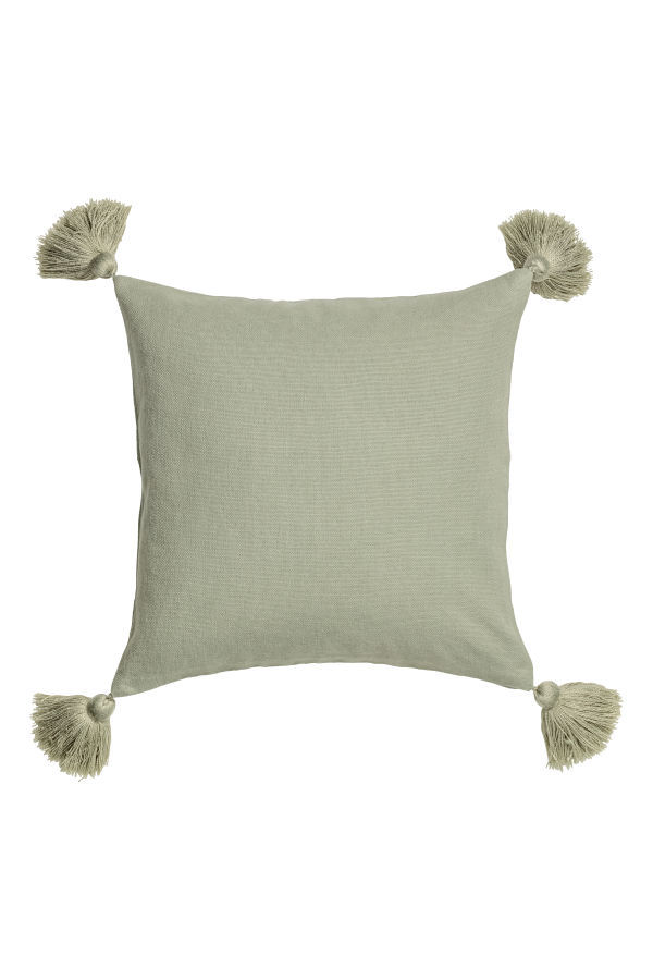 Cushion Cover with Tassels $12.99