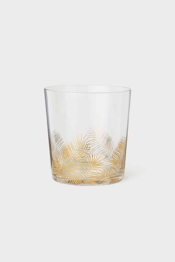 Leaf-patterned Glass $5.99