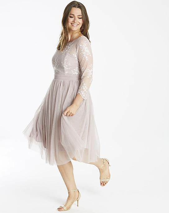 Embroidered Dress $74.99